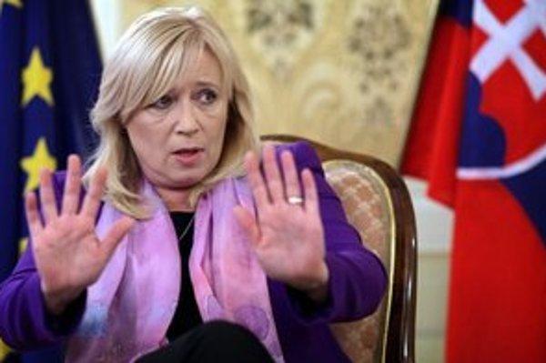 Iveta Radičová dáva od politiky ruky preč.