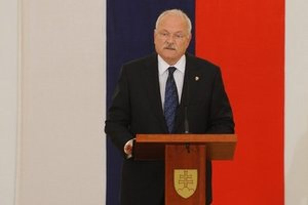 Prezident Ivan Gaššparovič.