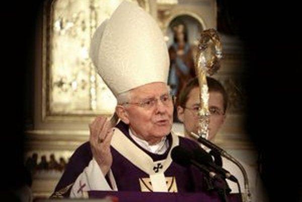 Ján Sokol ešte ako arcibiskup.