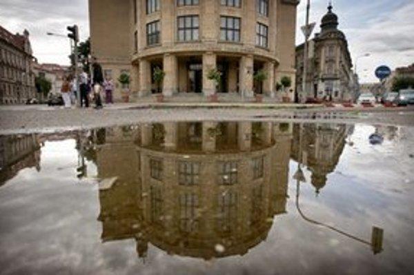 Budova Právnickej fakulty Univerzity Komenského.