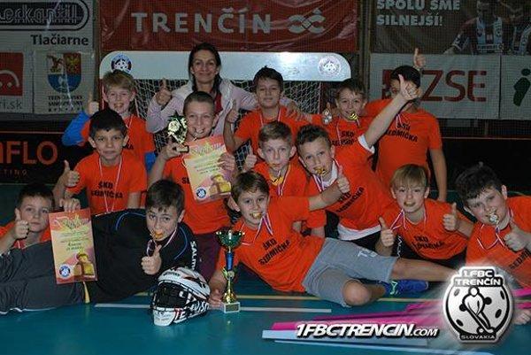 ZŠ Hodžova - víťaz turnaja.