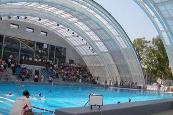 Národné centrum vodného póla v Novákoch bolo jedným z dvoch dejísk slovenského pohára mužov.