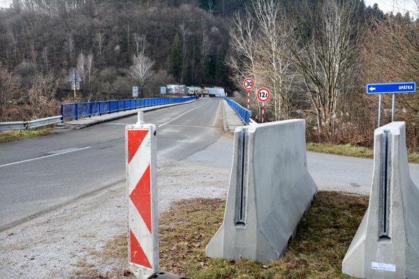 Uzavretie mostu sa už pripravuje.
