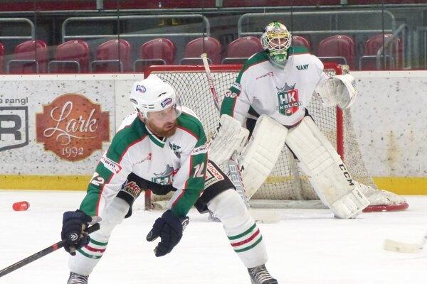 Ľubo Vaškovič si okrem ofenzívnych, plní aj defenzívne úlohy.