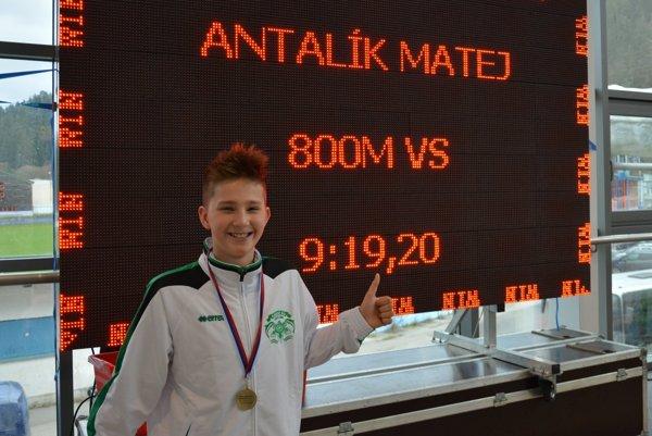 Matej Antalík sa právom pýši rekordom
