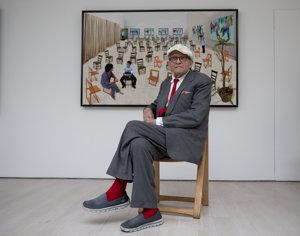 Britský výtvarník David Hockney (80)