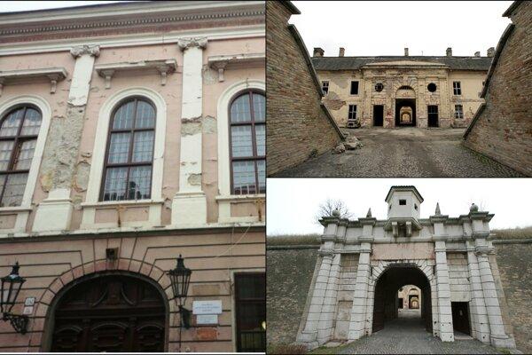 Vďaka dotáciám pokračovala obnova Župného domu, pevnosti a pamiatok v meste