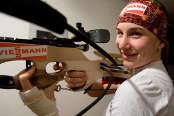Anastasia Kuzminová získala zlato vo Vancouvri.