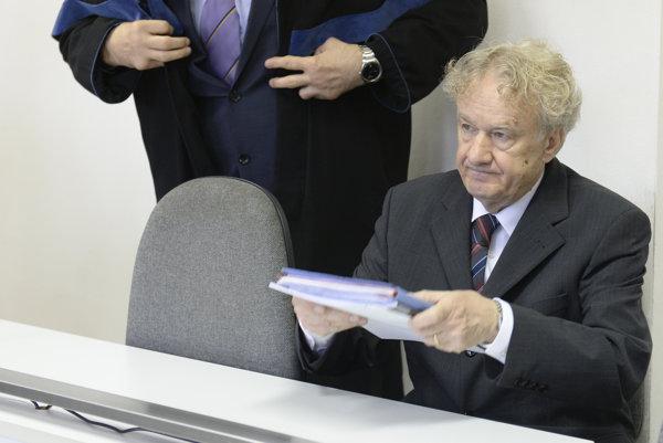 Bývalý predseda Matice slovenskej Jozef Markuš.