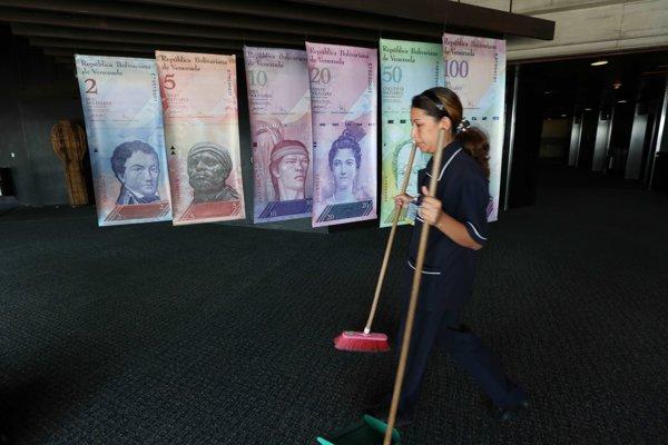 Venezuela čelí rekordnej inflácii.