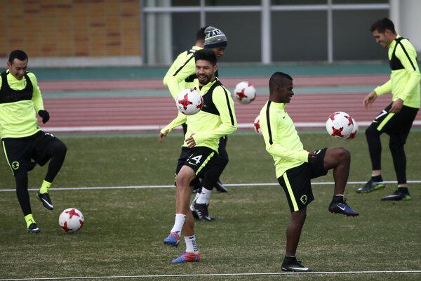 Futbalisti Clubu América sa pripravujú v Japonsku na zápas proti Realu Madrid.