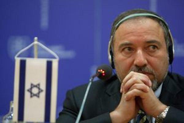 Izraelský minister zahraničných vecí Avigdor Lieberman.