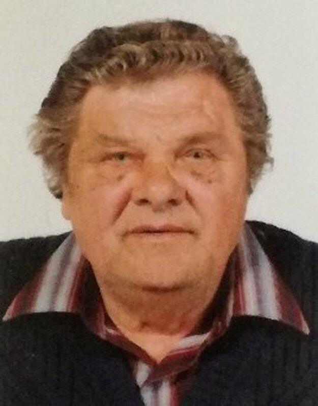 Nezvestný Jozef Adamec.