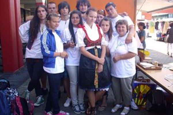 Na stretnutí mládeže sa zúčastnili aj gymnazisti z Handlovej.