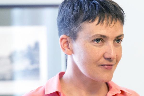 Savčenková sa vrátila do parlamentu, plánuje pokračovať v práci
