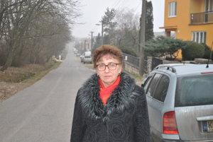 Starostka Mokraniec Mária Lacková (nez.)