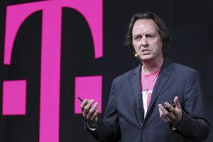 CEO spoločnosti T-Mobile John Legere (ilustračné foto).