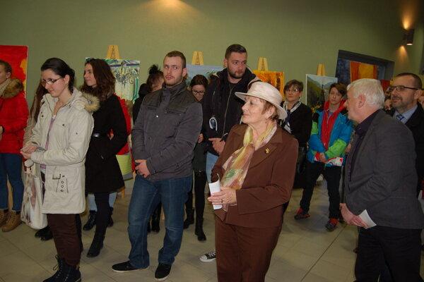 Výstava. Svoje diela vystavilo desať autorov zo Slovenska aj zUkrajiny.