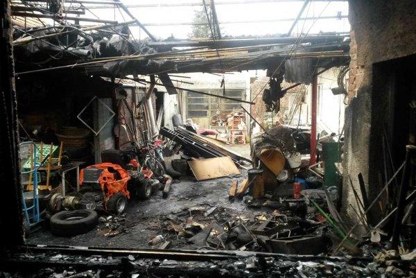 Škody vyčíslili na 10 tisíc eur.