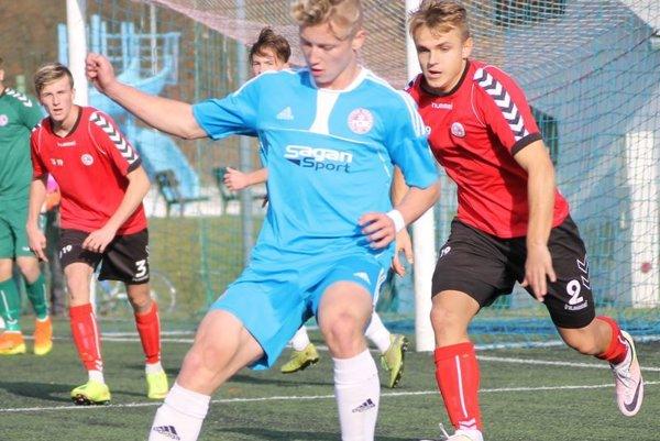 Martin Murcko v akcii, v súboji proti Senici U19.