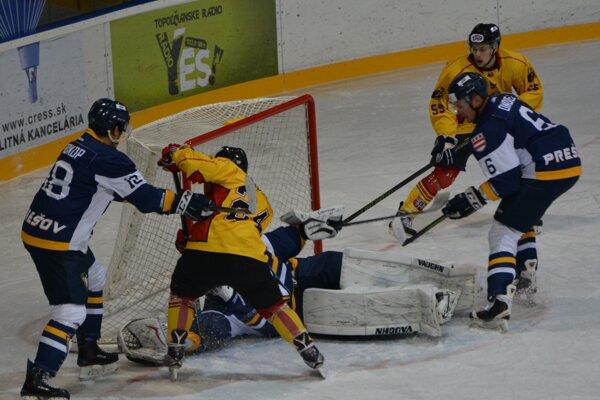 Hokejisti Topoľčian vonku gólovo mlčali.