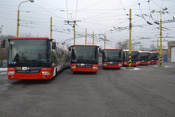 Nové trolejbusy. Budú premávať Prešovom