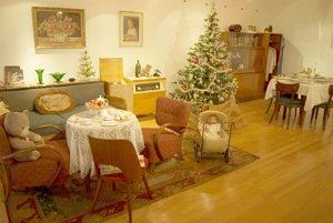 Štylizovaný dobový interiér môžu vidieť návštevníci v Západoslovenskom múzeu v Trnave.