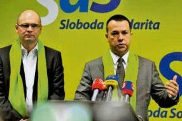 Richard Sulík a Juraj Miškov.