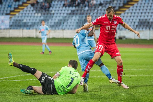 Róbert Pillár (17) a Michal Šulla (1) boli najväčšími oporami FK Senica počas jesennej časti.