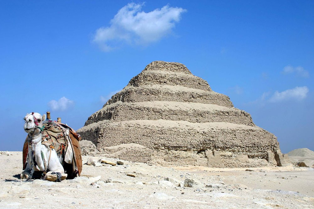 Džoserova pyramída.