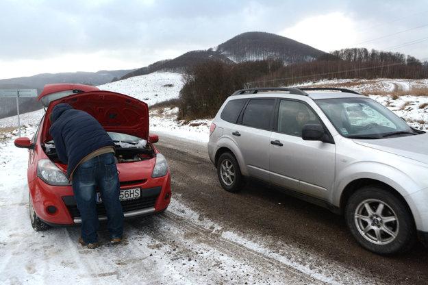 Auto sa dá odstaviť. Aj v prípade technických problémov môžete na krajnici zastaviť tak, aby okolo prešlo ďalšie auto.