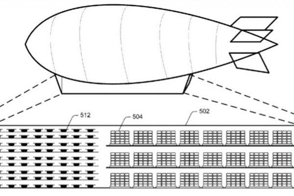 Amazon svoje nákladne vzducholode nazýva aj lietajúce centrá spokojnosti.