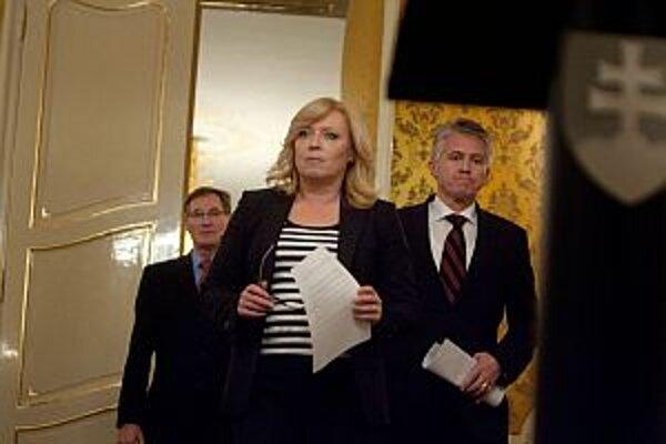 Slovenská premiérka Iveta Radičová.