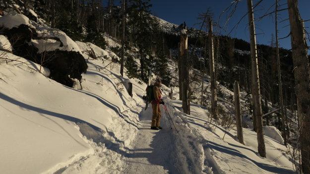Na Silvestra vyrážame do Malej studenej doliny.