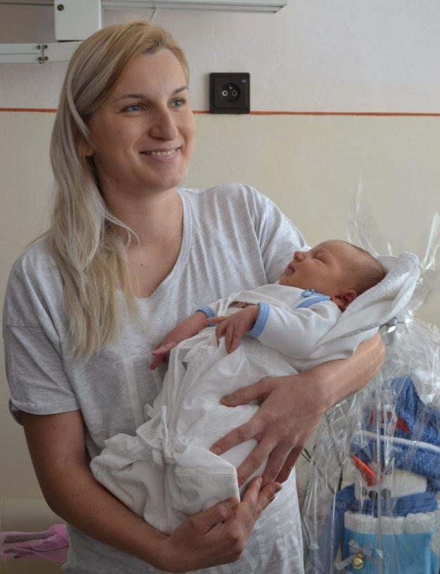 Prví. Ivana Zuzová so synom Lukášom.