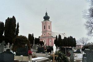 Kostol v Ardanovciach.