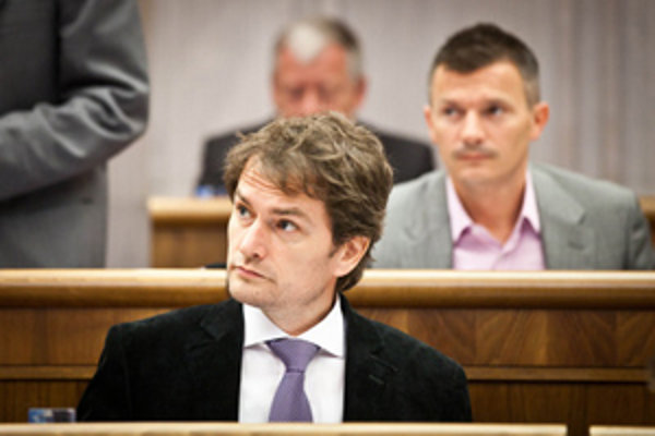 Igor Matovič sa dostal do slovnejs prestrelky s Andrejom Dankom (SNS).