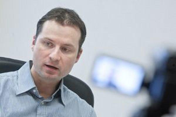 Riaditeľ Transparency Gabriel Šípoš.