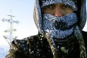 Peter Jantol na severnom póle.
