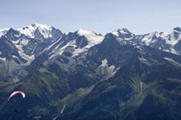 Masív Mont Blancu.