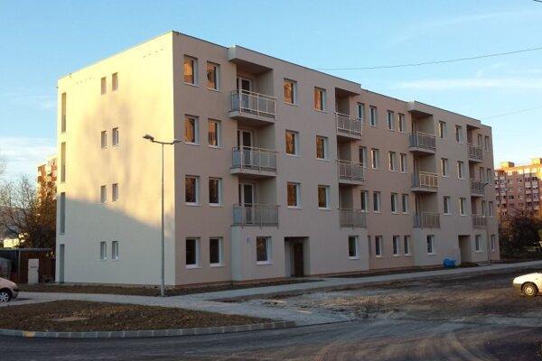 Nájomný bytový dom je v poradí štvrtým v tejto lokalite.