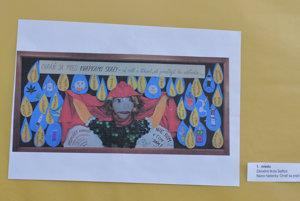 Najlepšia protidrogová nástenka žiakov Základnej školy v Sedliciach.