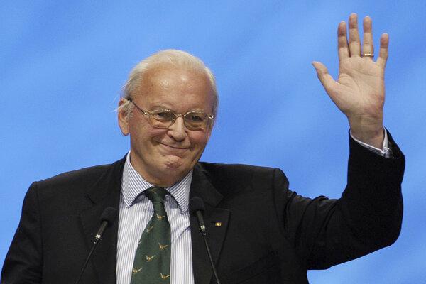 Bývalý nemecký prezident Roman Herzog.