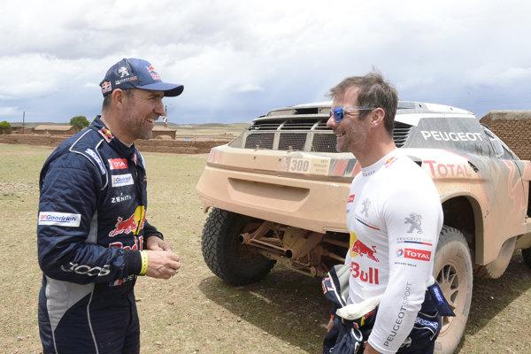 Sebastien Loeb a Elena Daniel sa tešia z víťazstva v ďalšej etape slávnej Rely Dakar.
