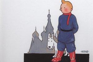 Tintin v krajine Sovietov.