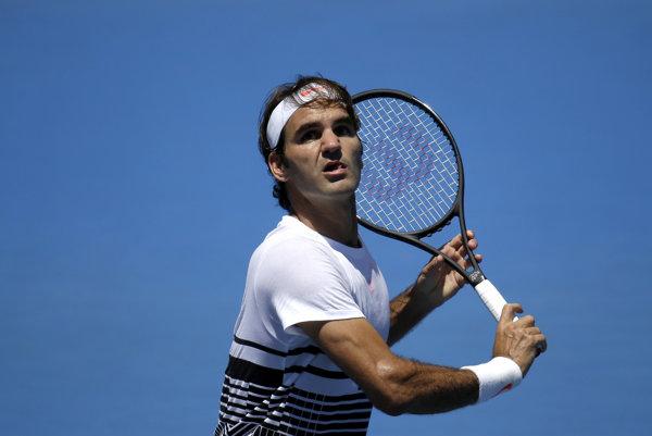 Roger Federer švajčiarsky tím neposilní.