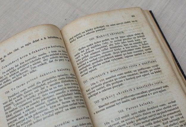 Stránky z knihy Jána Babilona. Na fotografovanie nám ju láskavo poskytlo Múzeum Ľudovíta Štúra v Modre.