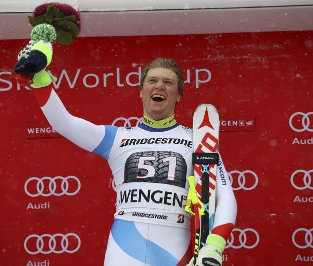 Niels Hintermann, prekvapivý víťaz kombinácie.