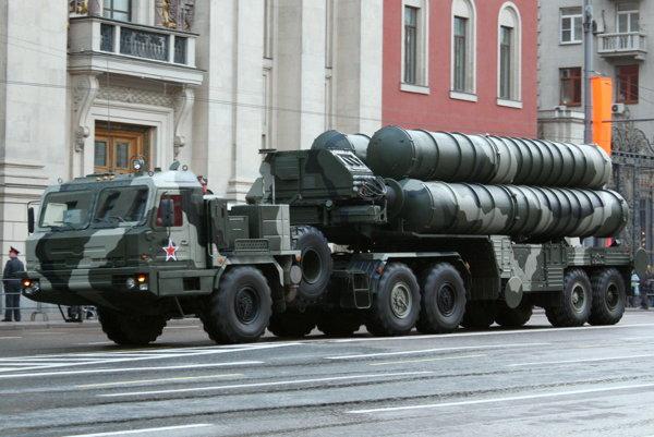 Raketový systém S-400 Triumf.