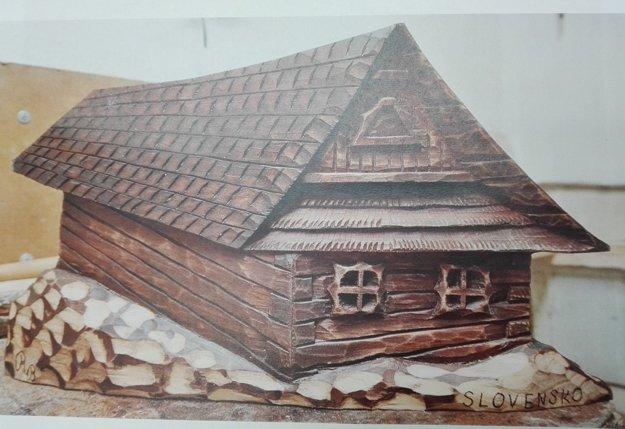 Drevorezba z dielne R. Boška.